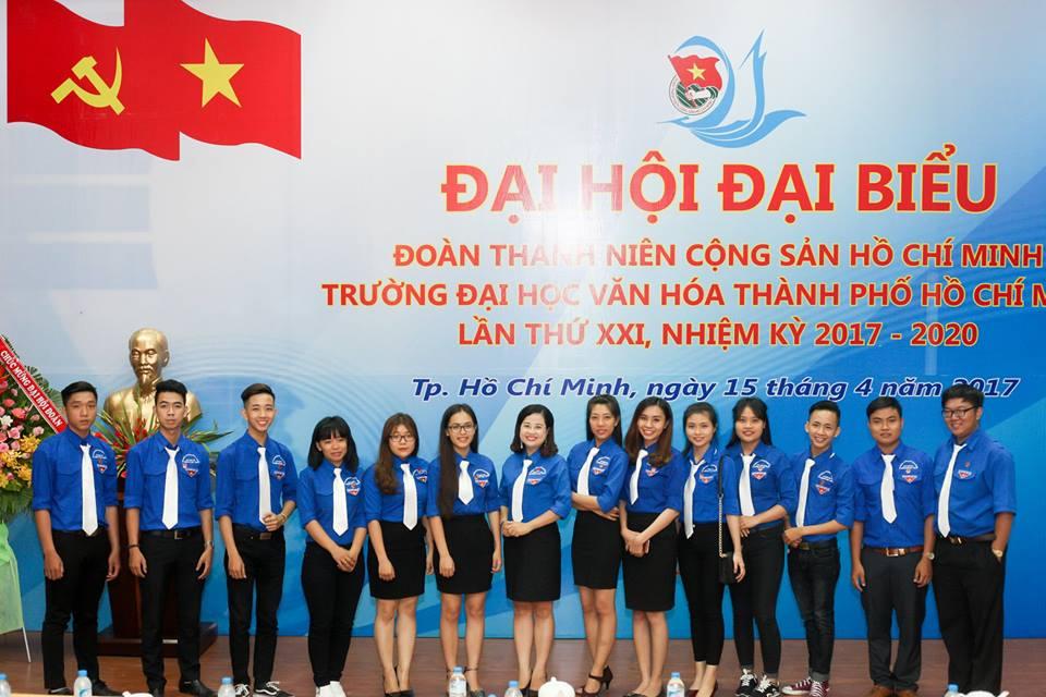 Ban CHấp Hành Đoàn Trường Đại Học Văn Hóa TP.HCM Nhiệm Kì XXI